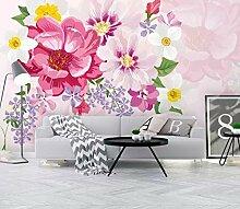Fototapete Blume Pflanze Tapete Wandkunst Tapeten