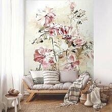 Fototapete Blumen 2.54 m x 184 cm East Urban Home