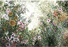 Fototapete Blumen 2.9 m x 416 cm East Urban Home