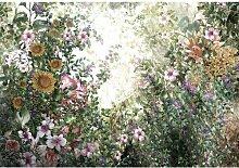 Fototapete Blumen 3.18 m x 520 cm East Urban Home