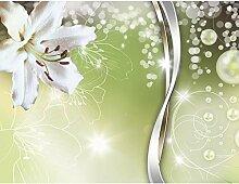 Fototapete Blumen Lilie 396 x 280 cm - Vlies Wand