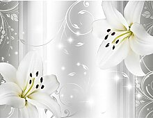 Fototapete Blumen Lilien 396 x 280 cm - Vlies Wand