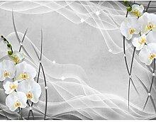 Fototapete Blumen Orchidee Vlies Wand Tapete