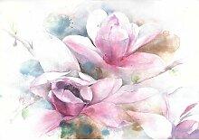 Fototapete Blumen Papier 2.54 m x 368 cm East