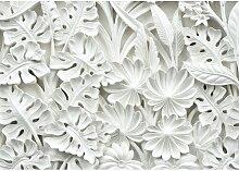 Fototapete Blumen Relief 2.54 m x 368 cm East