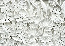 Fototapete Blumen Relief 2.9 m x 416 cm East Urban