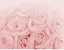 Fototapete Blumen Rosen Rosa Vlies Wand Tapete