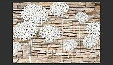 Fototapete Blumen & Stein 280 cm x 400 cm East