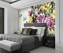 Fototapete Blumen Vlies Tapete Moderne Wanddeko