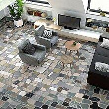 Fototapete Bodenmalerei mit Mosaikmuster 3D