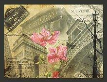 Fototapete Bonjour Paris! 309 cm x 400 cm East