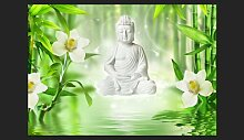 Fototapete Buddha and Nature 245 cm x 350 cm East