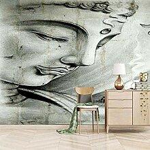 Fototapete Buddha-Statue 350CM x 256CM Vlies Wand