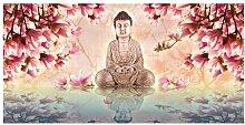 Fototapete Buddha und Magnolie 2,7 m x 550 cm East