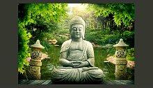 Fototapete Buddhas GArten 280 cm x 400 cm