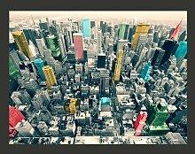 Fototapete Bunte Reflexe in New York 193 cm x 250