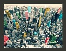 Fototapete Bunte Reflexe in New York 231 cm x 300