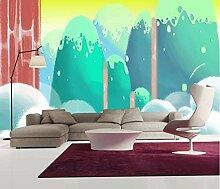 Fototapete Cartoon Landschaft Tapete Wandbilder