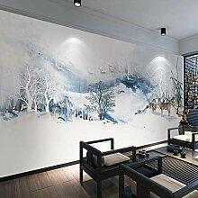 Fototapete Chinesischen Stil Abstrakte Tinte