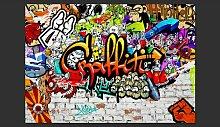 Fototapete Colorful Graffiti 245 cm x 350 cm