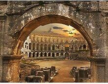 Fototapete Colosseum Rom 396 x 280 cm Vlies Wand