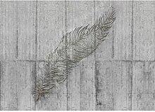 Fototapete Concrete Feather 2,5 m x 350 cm