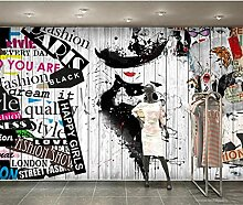 Fototapete-coole Graffiti handgemalte Schönheit