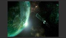 Fototapete Der grüne Planet 245 cm x 350 cm