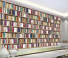 Fototapete Design Moderne Tapete Bücherregal