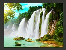 Fototapete Detian - Wasserfall (China) 193 cm x