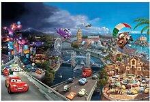 Fototapete Disney, CARS World, 368x254cm,