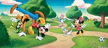 Fototapete Disney Mickey Mouse Goofy Minnie Daisy