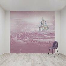 Fototapete Disney Princesses Castle  3 m x 280 cm