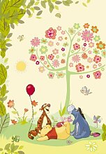 Fototapete Disney Winnie the Pooh 127 x 184 cm Art