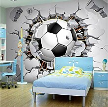 Fototapete Dreidimensionaler Fußball Moderne