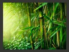 Fototapete Dschungel - Bambus 154 cm x 200 cm East