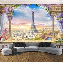 Fototapete Eiffelturm 3D Vlies Tapete Moderne Art