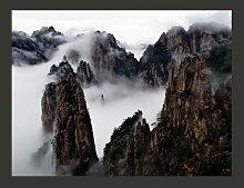 Fototapete Ein Meer aus Wolken, Huang Shan - China