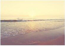 Fototapete Ein Morgen am Strand East Urban Home