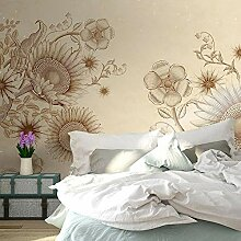 Fototapete Einfache Sonnenblume Wandtuch