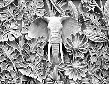 Fototapete Elefant Afrika - Vlies Wand Tapete