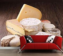 Fototapete Essen Tapete Käse Küche Für