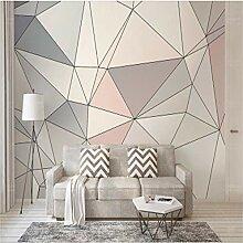Fototapete, europäische Wandfarbe, 3D, Geometrie,