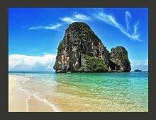 Fototapete Exotischer Strand - Railay in Thailand