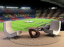 Fototapete FC BARCELONA in der Arena Mauer Fresco