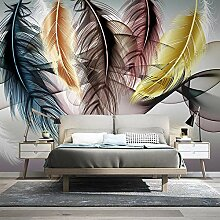 Fototapete Feder 3D Wandbilder Für Fernseher