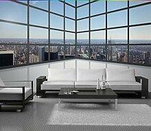 Fototapete Fenster 3D Vlies Tapete Moderne Art