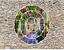 Fototapete Fenster nach Toscana Vlies Wand Tapete
