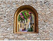 Fototapete Fenster Toscana Vlies Wand Tapete