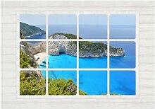 Fototapete Fenster zur Welt